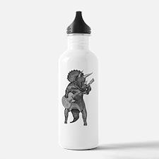 Triceratop rock Water Bottle