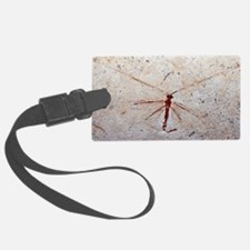 Lacewing fossil Luggage Tag