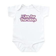 I live 4 Thurs Infant Bodysuit