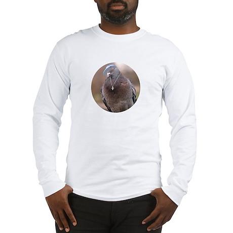 Gangsta Pigeon Long Sleeve T-Shirt