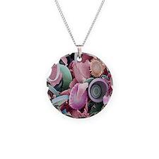 Fossilised diatoms, SEM Necklace