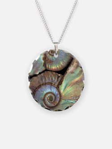 Fossilised ammonites Necklace
