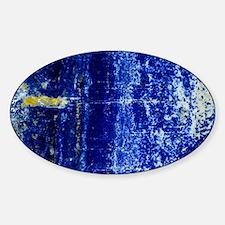Lapis lazuli Sticker (Oval)