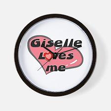 giselle loves me  Wall Clock