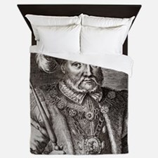 King Henry VIII of England Queen Duvet