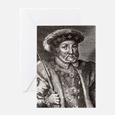 King Henry VIII of England Greeting Card