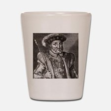 King Henry VIII of England Shot Glass