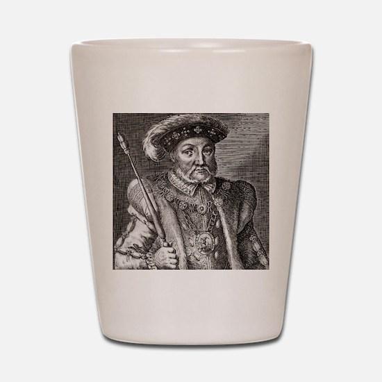King Henry VIII of England Shot Glass