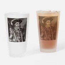 King Henry VIII of England Drinking Glass
