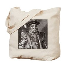 King Henry VIII of England Tote Bag
