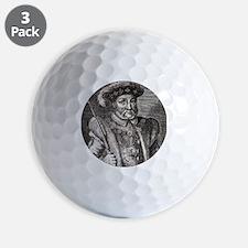 King Henry VIII of England Golf Ball