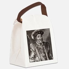 King Henry VIII of England Canvas Lunch Bag