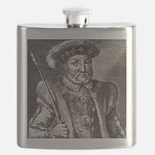 King Henry VIII of England Flask