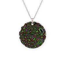 Kidney cells, light microgra Necklace