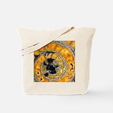 Fossil ammonite Tote Bag