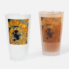 Fossil ammonite Drinking Glass