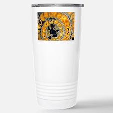 Fossil ammonite Travel Mug