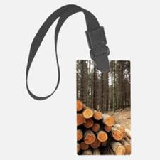 Forestry Luggage Tag