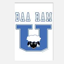 Baa Ram U. Postcards (Package of 8)