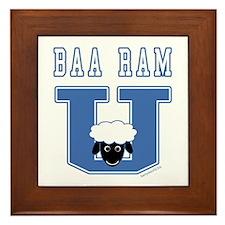 Baa Ram U. Framed Tile