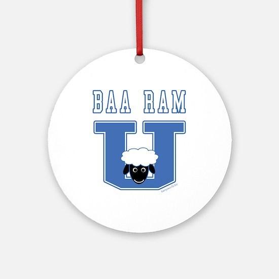 Baa Ram U. Ornament (Round)