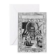 Knights Hospitaller, 16th century Greeting Card
