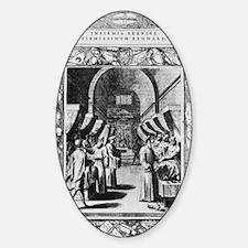 Knights Hospitaller, 16th century Sticker (Oval)