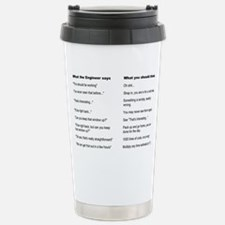 Engineer Translation Guide Travel Mug