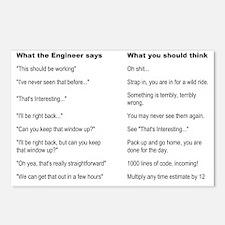 Engineer Translation Guid Postcards (Package of 8)