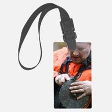 Forest worker Luggage Tag