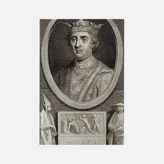 King Henry II of England Rectangle Magnet
