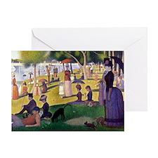Georges Seurat Greeting Card