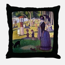 Georges Throw Pillow