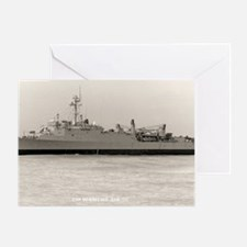 uss hermitage large framed print Greeting Card