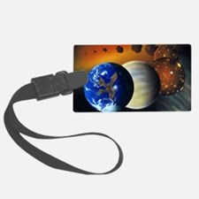 Formation of the Earth, artwork Luggage Tag