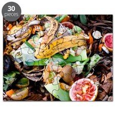 Food waste on compost heap Puzzle