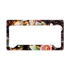 Food waste on compost heap License Plate Holder