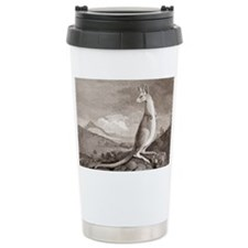 Kangaroo, 18th century plate Travel Mug
