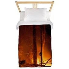 Forest fire Twin Duvet