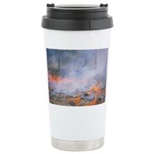 Forest fire Travel Mug