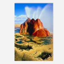 Fly Geyser in the Black R Postcards (Package of 8)