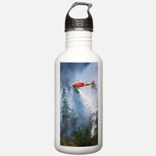 Forest fire Water Bottle