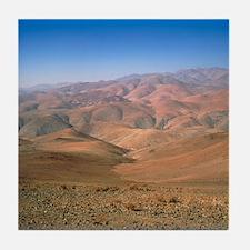 Foothills of the Andes, Atacama Deser Tile Coaster