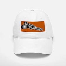 Foot bones, artwork Baseball Baseball Cap
