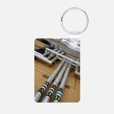 Insulated water pipes Keychains