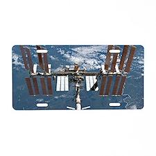 International Space Station Aluminum License Plate