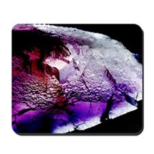 Fluorite cubic crystals Mousepad