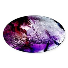 Fluorite cubic crystals Decal
