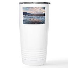 Flooded salt flat Travel Mug