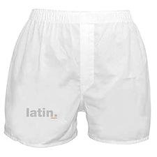 Latin. Boxer Shorts